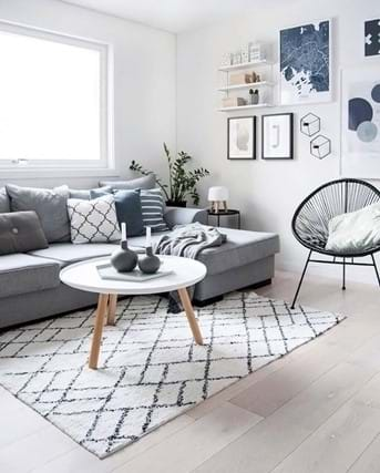 gorgeous scandinavian living room design trends 165097